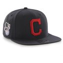 Cap 47 MLB navy  Cleveland Indians Sure Shot Captain OSFA