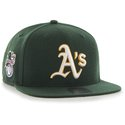 Cap 47 MLB dark green  Oakland Athletics Sure Shot Captain OSFA