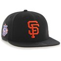 Cap 47 MLB black  San Francisco Giants Sure Shot Captain OSFA