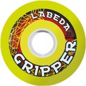 Wheels Labeda Gripper medium yellow 72 mm (4pack) GS7283YKP