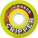 Wheels Labeda Gripper medium yellow 76 mm (4pack) GS7683YKP