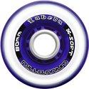 Wheels Labeda XSoft GM7278PTWP Millennium clear/purple 72 mm (4pack)